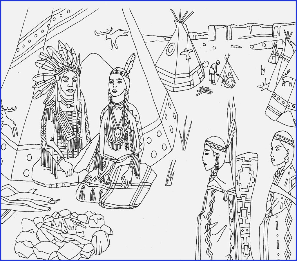 Native American Coloring Books for Adults Creative Native American Thanksgiving Coloring Pages Coloring Pages Women