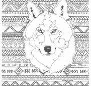 Native American Coloring Books for Adults Elegant Free Printable Wolf Coloring Pages for Kids and Monesmapyrene