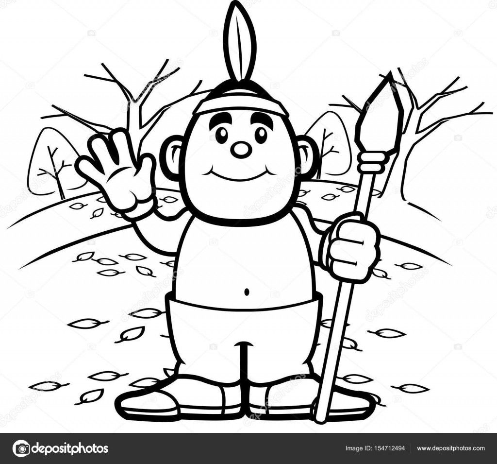 Native American Coloring Books for Adults Pretty Huge Collection Of Native American Cartoon Drawing Download More