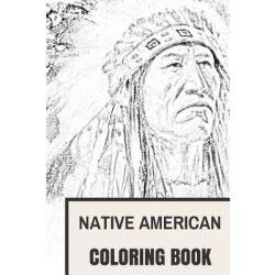 Native American Coloring Books for Adults Pretty Native American Coloring Book Cultural Native American and Red Men
