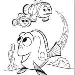 Nemo Coloring Book Excellent Finding Nemo Drawings Coloring Pages