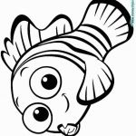 Nemo Coloring Pages Marvelous Finding Nemo Coloring Pages Printable