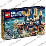 Nexo Knights Pictures Marvelous Lego Knighton Castle Set Parts Inventory and Instructions