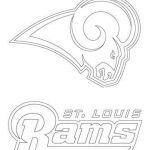 Nfl Coloring Book Exclusive St Louis Rams Logo Coloring Page From Nfl Category Select From