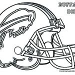 Nfl Football Coloring Pages Awesome Buffalo Bills Coloring Pages Luxury Nfl Helmet Coloring Pages New