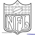 Nfl Football Coloring Pages Beautiful Inspirational Football Template Coloring Page – Tintuc247