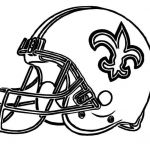 Nfl Football Coloring Pages Marvelous Helmet Saints New orleans Coloring Pages Football Coloring Pages