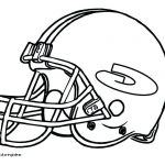 Nfl Helmets Coloring Pages Brilliant Green Bay Packers Helmet Drawing at Getdrawings