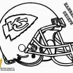 Nfl Helmets Coloring Pages Brilliant Kansas City Chiefs Coloring Pages