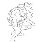 Ninja Turtle Color Pages Best Free Ninja Coloring Pages – Daimyfo