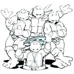 Ninja Turtle Color Pages Creative Ninja Turtles Colouring In Pages – Danquahinstitute