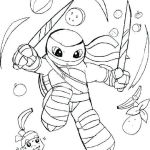 Ninja Turtle Color Pages Inspiration Cute Ninja Turtles Coloring Pages Coloring Books Kids