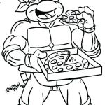 Ninja Turtle Color Pages Inspiration Ninja Turtles Coloring Pages to Print Free Priable Turtle Coloring