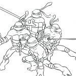Ninja Turtle Coloring Pages Inspiration Teenage Ninja Turtles Coloring Pages – Utibaamericas
