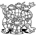 Ninja Turtle Coloring Pages Inspired Coloring Page Free Coloring Pages for Teens Teenage Mutant Ninja