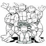 Ninja Turtle Coloring Pages Marvelous Nickelodeon Coloring Pages at Getdrawings