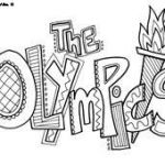 Olympic Color Sheet Best 217 Best Kids Coloring Sheets Images In 2019