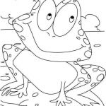 Online Color by Number Creative √ Coloring Book Line Free and Color Sheets Free Luxury Frog
