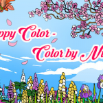 Online Color by Number for Adults Inspirational Happy Color™ – Color by Number Apps On Google Play