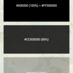 Online Color by Number Inspired Hexadecimal Color Code for Transparency · Github