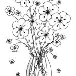 Online Coloring Pages for Adults Inspiration Awesome Vases Flower Vase Coloring Page Pages Flowers In A top I 0d