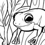 Online Free Coloring Pages Awesome Coloring Activities for Kids Elegant Coloring Pages Kids Frog