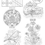 Oriole Coloring Page Amazing Elegant Iowa Flag Coloring Pages Nocn