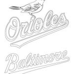 Oriole Coloring Page Awesome Baltimore orioles Coloring Pages Baltimore orioles Logo Coloring