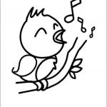Oriole Coloring Page Excellent Bird Singing Coloring Page Coloring Pages for Kids