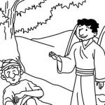 Oriole Coloring Page Inspired Fabulous Elijah Bible Story Coloring Pages – Simplesnacksp