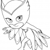 Owlette Coloring Page Amazing How to Draw Owlette From Pj Masks Printable Step by Step