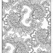Paisley Coloring Pages Brilliant Pin by Claudia On Coloring