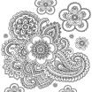 Paisley Coloring Pages Marvelous Disney Flower Mandala Coloring Pages Wiki Design