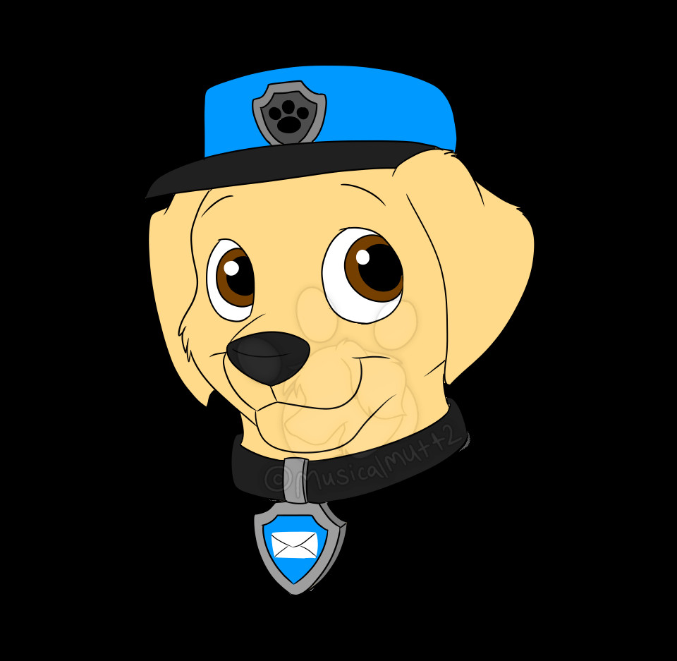 Paw Patrol Badges Best Baxter the Mail Pup Paw Patrol Fanon Wiki
