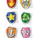 Paw Patrol Badges Creative Paw Patrol Birthday Party Ideas and Supplies