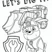 Paw Patrol Birthday Printables Awesome Free Paw Patrol Coloring Pages Party Ideas Activities by Throughout