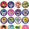 "Paw Patrol Characters Names and Pictures Awesome Paw Patrol 2"" Circle Digital Collage Sheet 8 5x11"