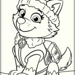Paw Patrol Color Amazing Paw Patrol Everest Coloring Pages Coloring Pages