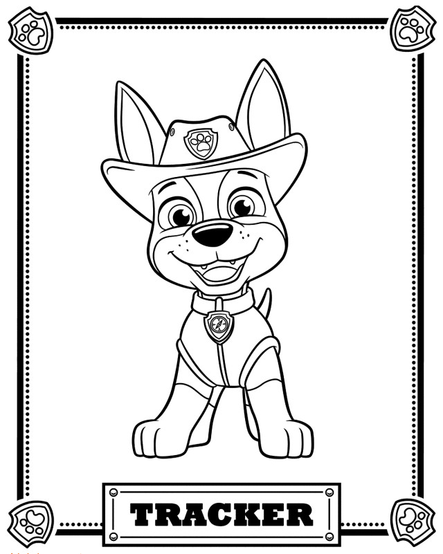 Paw Patrol Color Beautiful top 10 Paw Patrol Coloring Pages