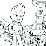Paw Patrol Color Brilliant Free Paw Patrol Coloring Pages New Christmas Printables Coloring