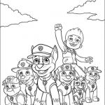 Paw Patrol Color Inspiring New Paw Patrol Printable Coloring Pages