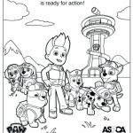 Paw Patrol Color Pages Awesome Paw Patrol Printable Coloring Pages – Sharpball