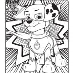 Paw Patrol Color Pages Wonderful Paw Patrol Super Pups Colouring Page Coloring Pages
