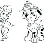 Paw Patrol Coloring Books Inspirational Nickelodeon Christmas Coloring Pages at Getdrawings
