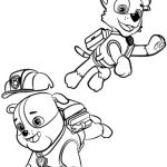 Paw Patrol Coloring Books Unique Paw Patrol Rubble and Rocky Coloring Page Paw Patrol