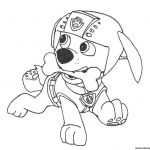Paw Patrol Coloring Online Inspirational Coloring Awesome Paw Patrol Coloring Pages to Print Zuma the Art