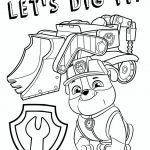 Paw Patrol Coloring Online Inspired Free Printable Paw Patrol Coloring Pages