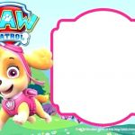 Paw Patrol Free Birthday Printables Beautiful Free Birthday Party Invitation Templates A Template Lab with 50th