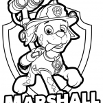 Paw Patrol Free Birthday Printables Excellent Cooloring Book 44 Extraordinary Paw Patrol Coloring Pages Marshall
