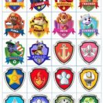 Paw Patrol Names and Pictures Awesome 12 Best Paw Patrol Badge Images